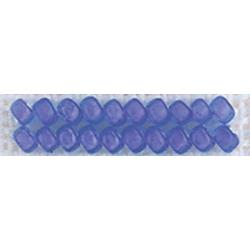Blue Violet Mill Hill Frosted Glass Seed Beads 2.5mm 4.25g