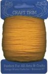 Dark Yellow Acrylic Yarn - 20 yard by Craft Trim
