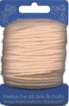 Peach Acrylic Yarn - 20 yard by Craft Trim