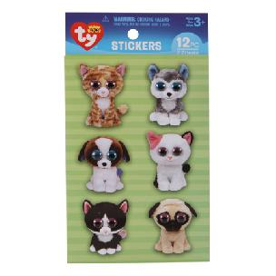 ty  Beanie Boo Pet Wiggle-Eye Stickers