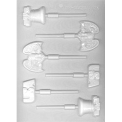 Liberty Assort. Lollipop Sheet Mold - From LorAnn Oils