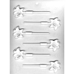 Lilies Lollipop Sheet Mold - From LorAnn Oils