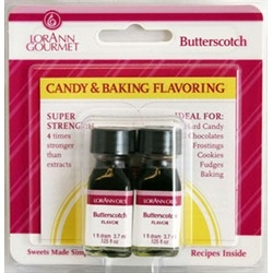 Butterscotch Candy & Confection Flavor - Lorann 1 Dram Twinpack