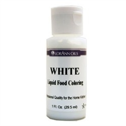 White - LorAnn Gourmet Liquid Food Color 1 oz