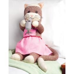 Miss Kitty Sock Monkey Kit by Janlynn