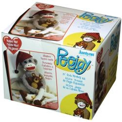 Peejay Make a Sock Monkey Kit by Janlynn