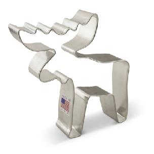 Moose Cookie Cutter 4 1/8 inch by Ann Clark