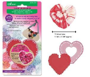 Quick Yo-yo Maker Heart Shaped (Large) by Clover