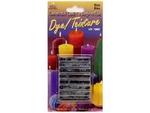 Blue Yaley Candle Dye Block .75 oz