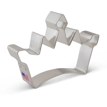 Princess Crown - King's Cookie Cutter 4 5/8 inch