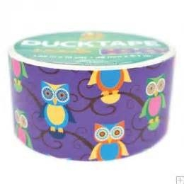 Owls  Duck Tape 10 yard roll