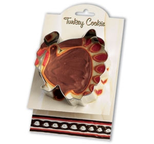 Turkey - Make More Cookies Cookie Cutter by Ann Clark