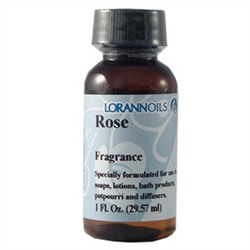 Rose Fragrance Oil - 1 ounce by LorAn Oils