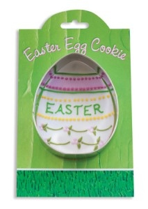 Easter Egg - Make More Cookies Cookie Cutter by Ann Clark