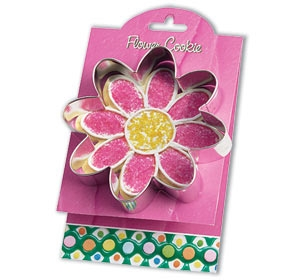 Flower - Make More Cookies 5 inch Cookie Cutter by Ann Clark