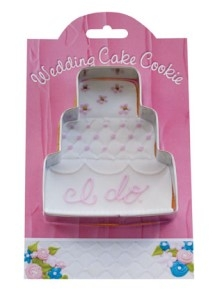 Wedding Cake - Make More Cookies Cookie Cutter by Ann Clark