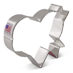 Heart with Banner - LilaLoa's Cookie Cutter, 3.5 x 4 inch by Ann Clark