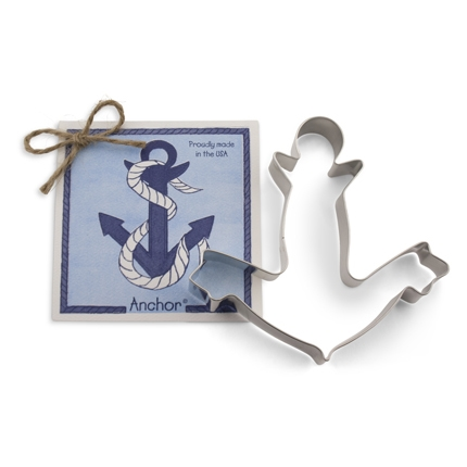 Anchor Cookie Cutter 5 inches by Ann Clark