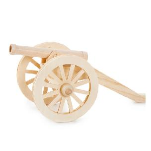 Civil War Cannon Wood Model Kit
