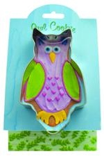 Owl - Make More Cookies Cookie Cutter