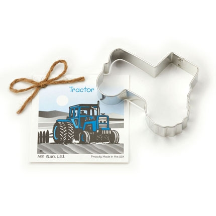Tractor Cookie Cutter - 4 inch by Ann Clark