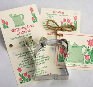 Watering Can Cookie Cutter by Ann Clark