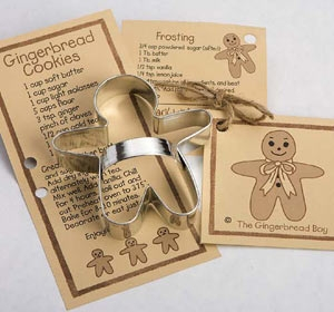 Gingerbread Boy Cookie Cutter by Ann Clark