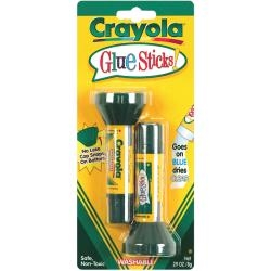 Crayola Washable Glue Sticks 2/Pkg