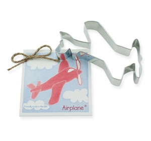 Airplane 4 3/4 inch Cookie Cutter by Ann Clark