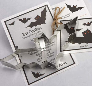 Bat Cookie Cutter 8 3/4 inches Wide by Ann Clark