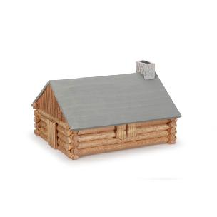 Wood Model Kit Log Cabin