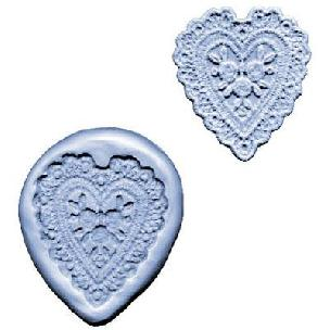 Heart Lace - Maker Silicone Mold
