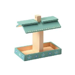 Bird Feeder Wood Model Kit
