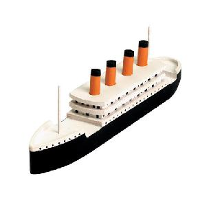 Titanic Wood Model Kit