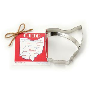 Ohio State Cookie Cutter 4 1/8 inch by Ann Clark