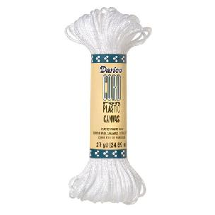 NON-Metallic Plastic Canvas Cord -White - 27 yards