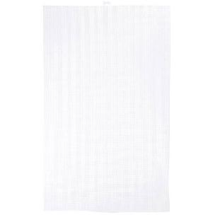 #7 Mesh Plastic Canvas Ultra Stiff - White 13-5/8 x 22-1/2