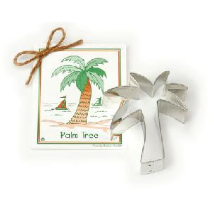 Palm Tree Cookie Cutter 4 1/4 inches by Ann Clark