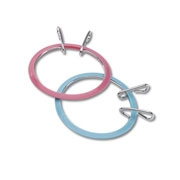 Darice Spring Tension Embroidery Hoops - 3 1/2 inch
