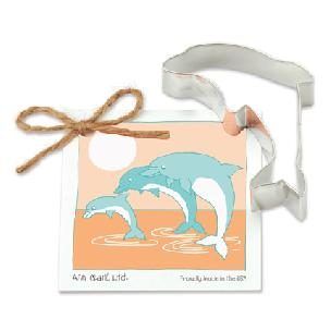 Dolphin Cookie Cutter 4 inches by Ann Clark