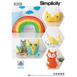 Simplicity Friends of Socktopus patterns 8358