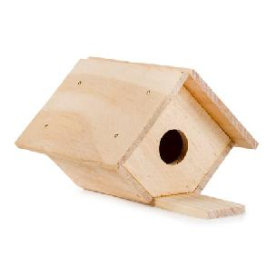 Bird House Wood Model Kit