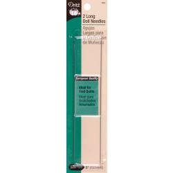 5 inch Doll Needles 2/Pkg - Dritz