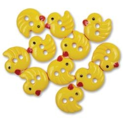 Favorite Findings - Chirp Decorative Buttons - 10 pieces