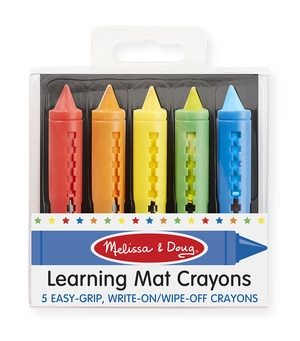 Learning Mat Crayons - Melissa and Doug