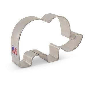 Cute Elephant Cookie Cutter 4 1/8 inch by Ann Clark