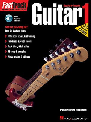 FastTrack - Guitar 1 - Audio Access Included