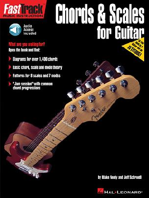 FastTrack - Chords and Scales for Guitar - Audio Access Included