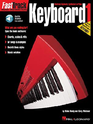 FastTrack - Keyboard 1 Method Book- Audio Access Included
