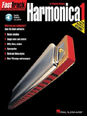 FastTrack Harmonica Method  Book 1 for C Diatonic Harmonica Audio Access Included